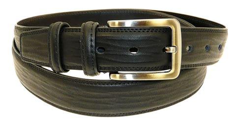 mens genuine black leather belt in gift box all sizes ebay