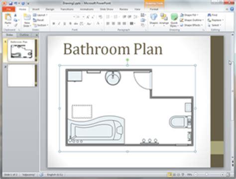 bathroom plan templates word powerpoint