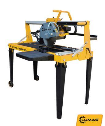 electric saw bench lumag fs350 1200pro electric tile saw 171 lumag distribution