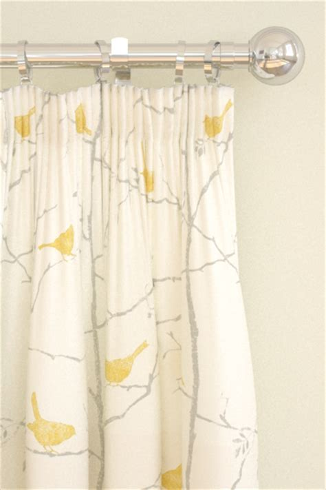 linden curtains dawn chorus linden slate tab top curtains by sanderson