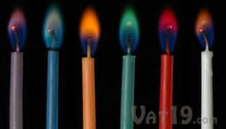 color flames color candles twelve birthday candles with