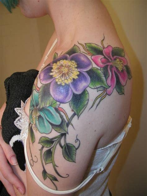 flower tattoo ideas for shoulder flowers tattoos for shoulder