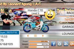 mod game drag racing bike download game drag racing bike edition mod indonesia