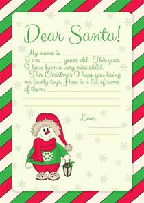 Free Santa Reply Letter Template Free Printables Letter To Santa Templates And How To Get