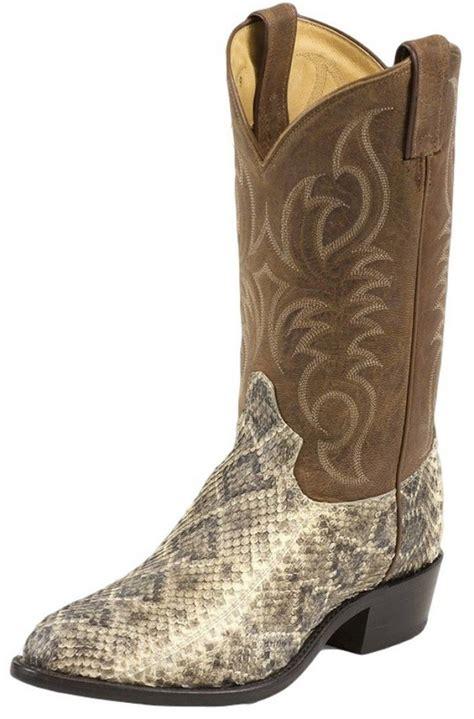 mens rattlesnake skin boots tony lama rattlesnake skin boots authenticboots