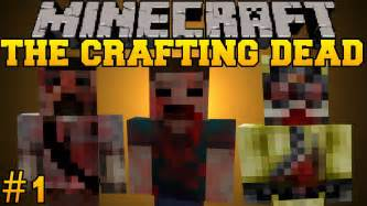 minecraft crafting dead minecraft the crafting dead let s play part 1 the