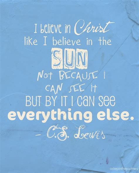 cs lewis biography for students i believe in christ