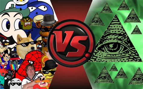 fight club illuminati mlg and vs illuminati