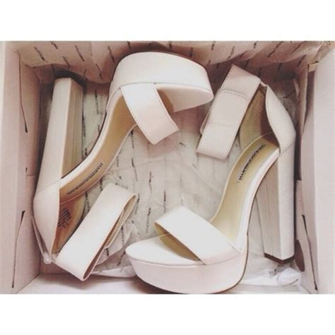 shoes heels platform shoes wedges white straps