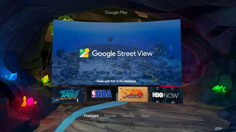 android vr official daydream is android s new vr platform