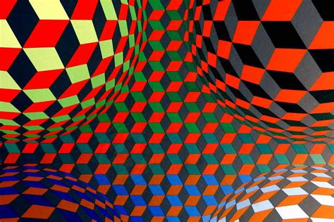 pattern artists work victor vasarely creating a universal visual language
