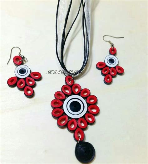 Jewellery With Quilling Paper - 17 best images about paper jewellery on