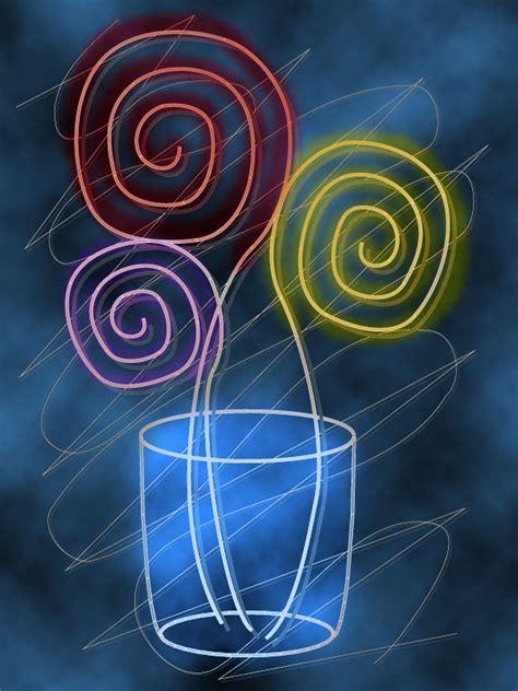 quadri fiori stilizzati fiori stilizzati