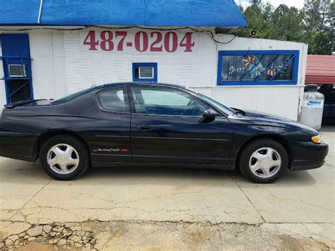 sell new 2000 chevy mont carlo ss orig 70 000 mi blk v6 leath pwr heated seats cold air in 2000 chevrolet monte carlo ss for sale 186 used cars from 1 995