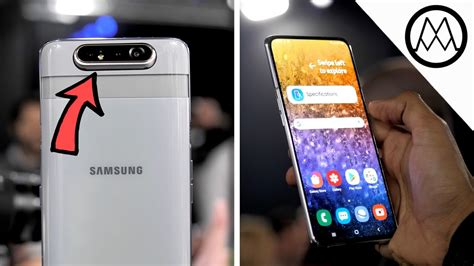 Samsung Galaxy A80 Review by Samsung Galaxy A80 Rotating On Review