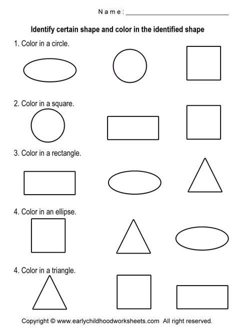 free printable identifying shapes worksheets printable shapes worksheets worksheets for all download