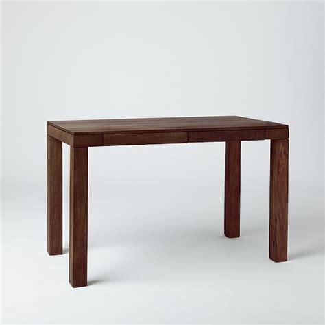 parsons desk mango wood west elm