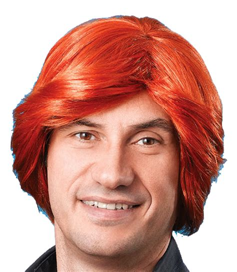 pub shop wigs male wig ginger mens ginger wig 70 s retro disco diva stag do party fancy