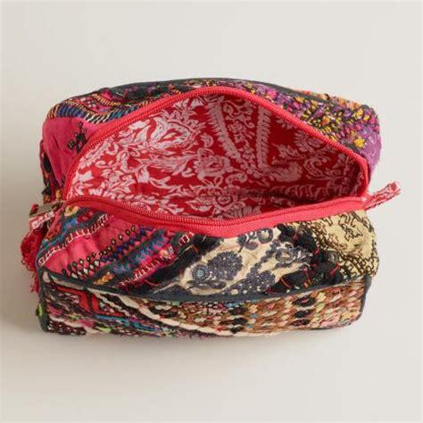 Sari Patchwork - sari patchwork cosmetic pouch world market