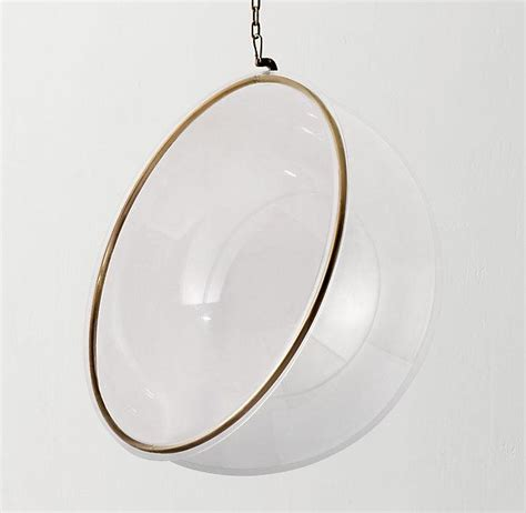 Acrylic Hanging Chair by White Pod Hanging Chair With Cushion