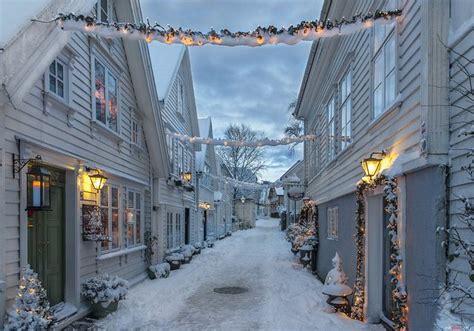 lightening   december evening   winter scenery winter scenes travel