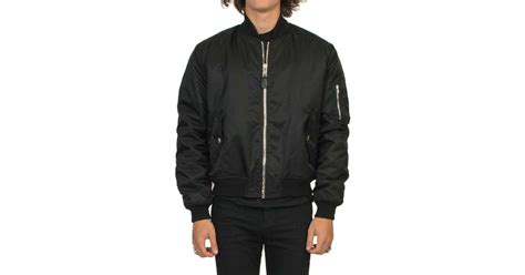 illuminati jacket lyst givenchy illuminati patch bomber jacket in black