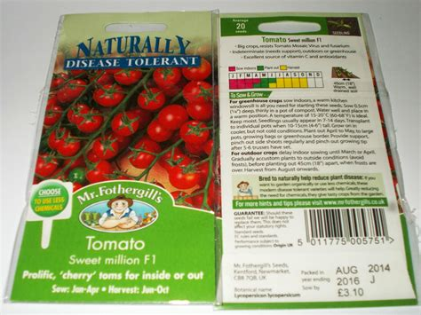 jual benih tomat ceri unggul tomato sweet million f1 mr