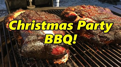 back yard barbque christmas family bbq 2017 i grill