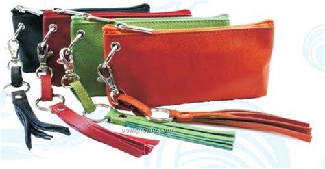 Croc Grain Wristlet croc brown destiny wristlet wallet pouch w tassel