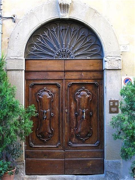 tuscan style arezzo italy doors
