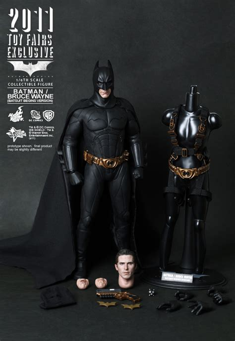 batman bruce wayne batsuit begins version plastic and