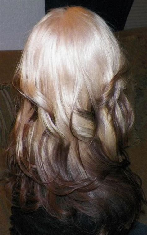 reverse ombre but only at the very bottom pinterest the world s catalog of ideas