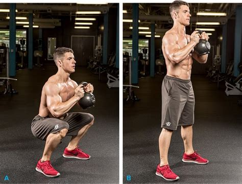 kettlebell swing exercise the 6 best kettlebell exercises you need to do