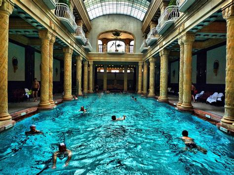 bagni gellert budapest gellert thermal bath il di luceradente