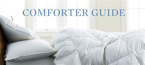 Comforter Buying Guide The Company Store
