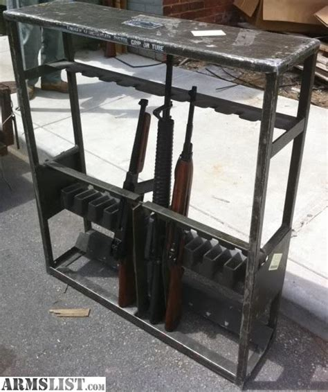 weapon racks armslist for sale military weapon racks