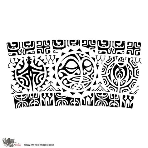 48 best images on designs collection of 25 black polynesian arm band