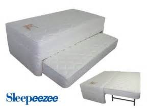 trundle bed pop up pop up trundle bed sleepzone sleepeezee guest trundle