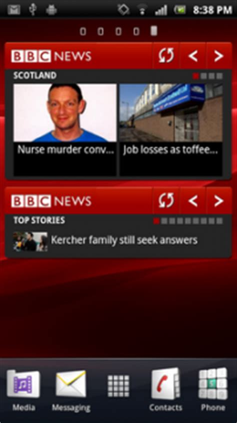 news widgets for android news for android adds home screen widgets talkandroid