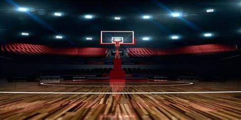 background photo vinyl 20x10 studio prop backdrop basketball court indoor ebay