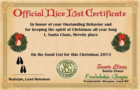 santa good list certificate search results calendar 2015