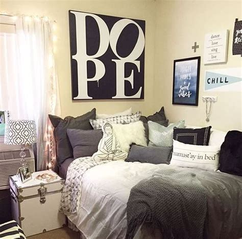 cool room ideas for college guys black white wrapped 31 cool dorm room d 233 cor ideas you ll like digsdigs