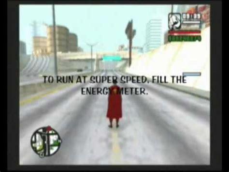 gta san and reas super man codes gta sa superman mod ps2 youtube