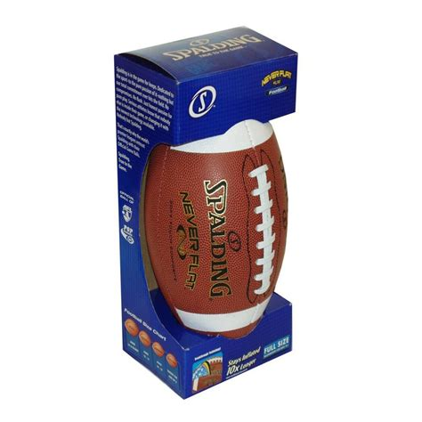 Spalding Neverflat By Basis Sports spalding neverflat football official size