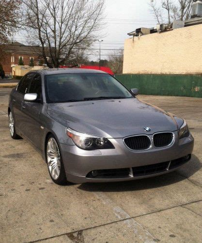 how does cars work 2004 bmw 5 series windshield wipe control buy used 2004 bmw 530i sedan 4 door 3 0l in united states