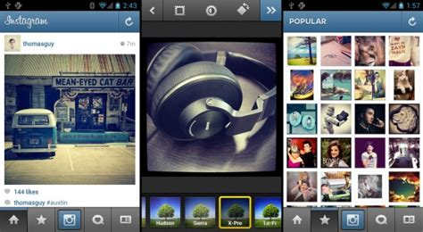 instagram full version for android instagram for android share photos on camera phones