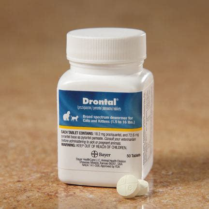 Drontal For drontal 174 tablets for cats brand