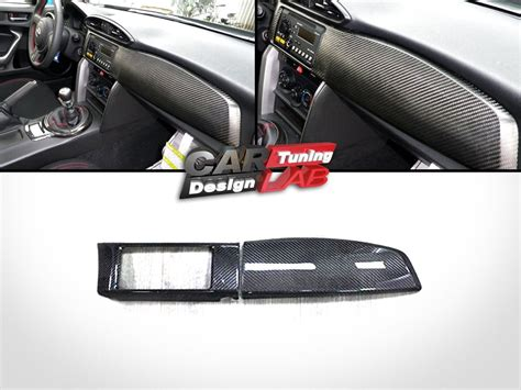 All New Panel Karbon Dashboard Jsl Panel Carbon 7pcs 2 carbon dash kit board radio cover for scion frs fr s toyota gt86 subaru brz