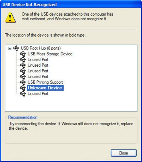 port scan my computer canon printer usb device not recognized windows 7