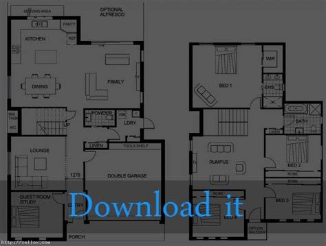 floor plans for a 2 story house house plans two story